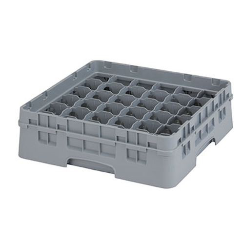 Cambro 36S318151 Camrack Glass Rack With Soft Gray Extender