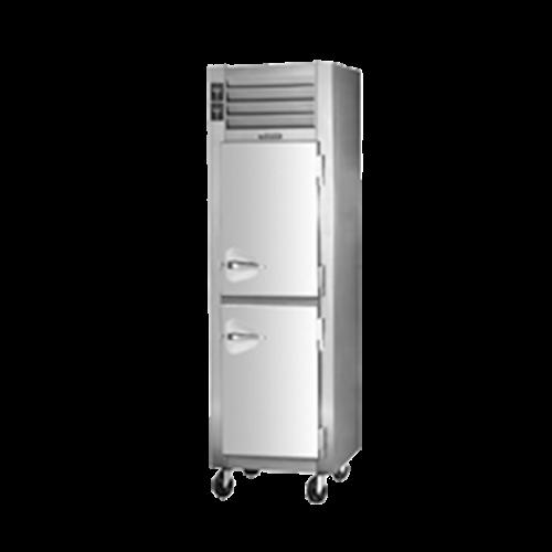 "Traulsen ADT132KUT-HHS One-Section 24"" W Solid Door Reach-In Spec-Line Refrigerator/Freezer Dual Temp Cabinet"