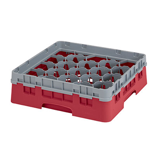 Cambro 20S318416 Camrack Glass Rack With Soft Gray Extender