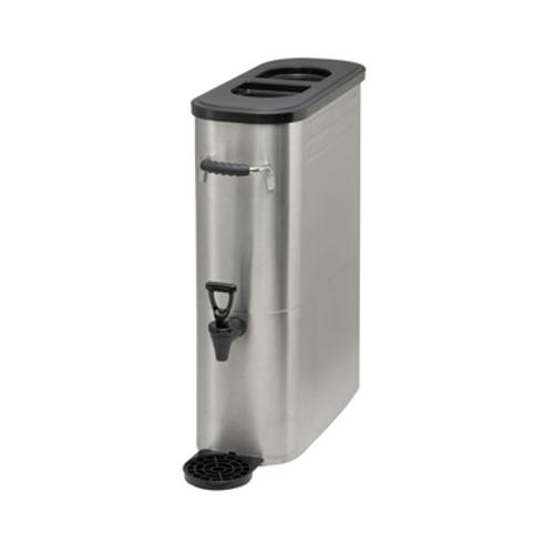 Winco SSBD-3 Iced Tea Dispenser 3 Gallon Stainless Steel Iced Tea Dispenser