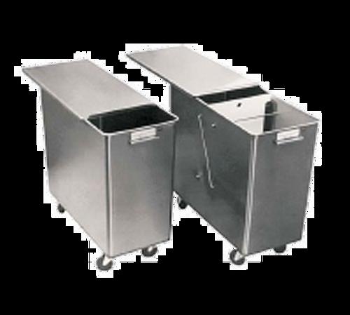 Baxter INGBIN-1CMPT2 Stainless Steel Sliding Ingredient Bin