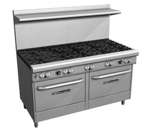 "Southbend 4607AD-2CL 60"" Gas Ultimate Restaurant Range - 301,000 BTU"