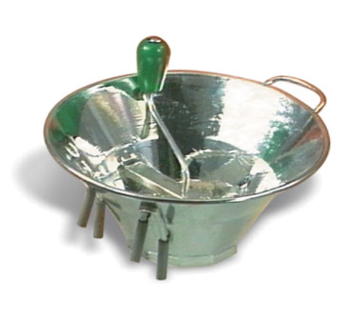 """Matfer Bourgeat S3015 1/16"""" Fine Grind Tin-Plated Food Mill Grid"""