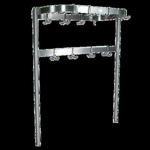 John Boos PRTC4 Stainless Steel Table Mount Pot Rack