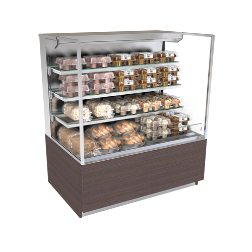 "Structural Concepts NR4855DSSV 47.75""W Self-Service Non-Refrigerated Case"