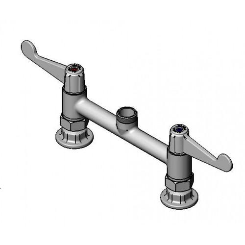 "T&S Brass 5F-8DWS00 Equip Faucet swivel 8"""