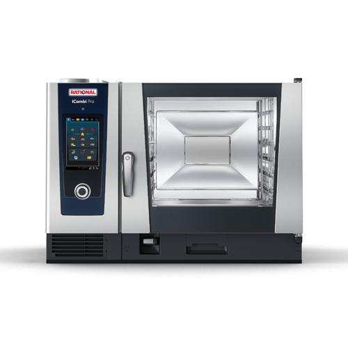 Rational CC1GRRA.0000239 Liquid Propane 6-Full Size Combi Oven - 104,000 BTU