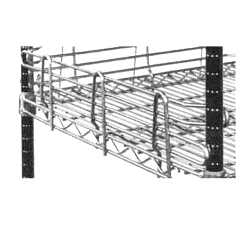 "Metro L30N-4S Super Erecta Shelf Ledge 30""W Stainless Finish"