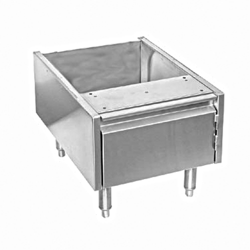 "Glastender ACB-18 Stainless Steel Underbar ADD-On Cabinet Base - 18""W x 24""D"