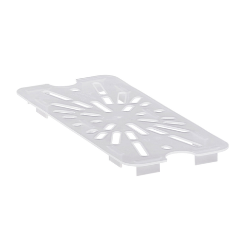 Cambro 30PPD190 1/3 Size Translucent Polypropylene Drain Shelf