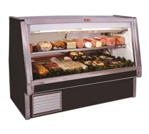 """Howard McCray SC-CDS34E-10-BE-LED 124.5""""W Deli Meat & Cheese Service Case"""