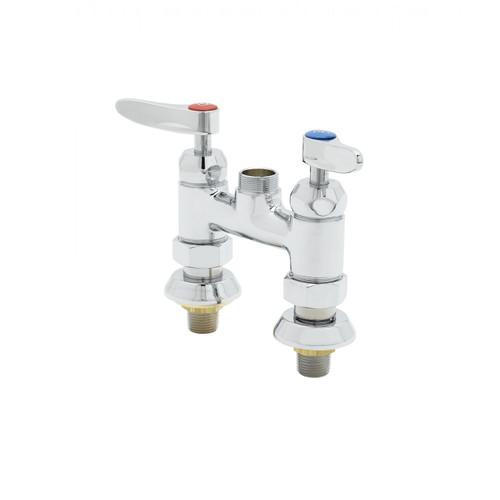 "T&S Brass B-0225-EELN Faucet 00EE inlets 4"""