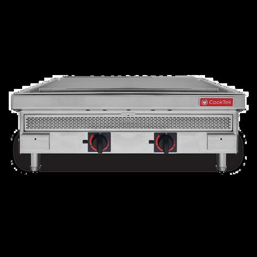 "CookTek 680301 36"" Countertop Induction Plancha - 208-240 Volts"
