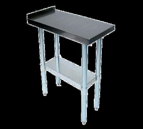 "John Boos EFT8-3012SSK 12""W x 30""D x 36-1/4""H 18/400 Stainless Steel Top Filler Table"