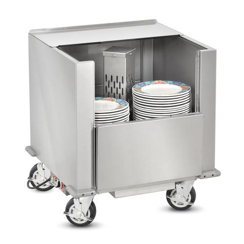 FWE HDC-200-11 Heated Dish Storage Cart