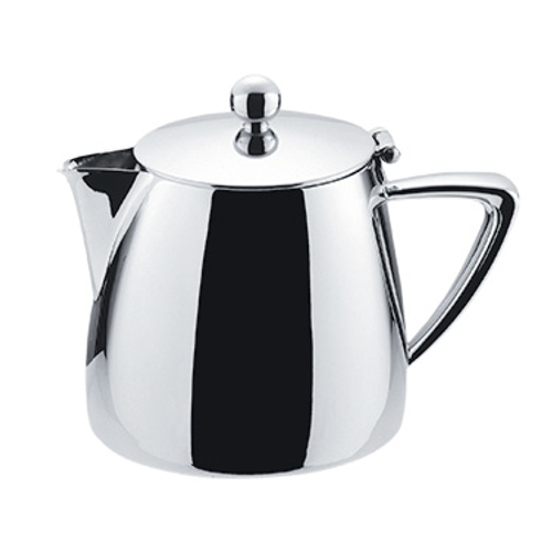 Winco Z-MC-TP10 10 Oz. 18/10 Stainless Steel Tea Pot
