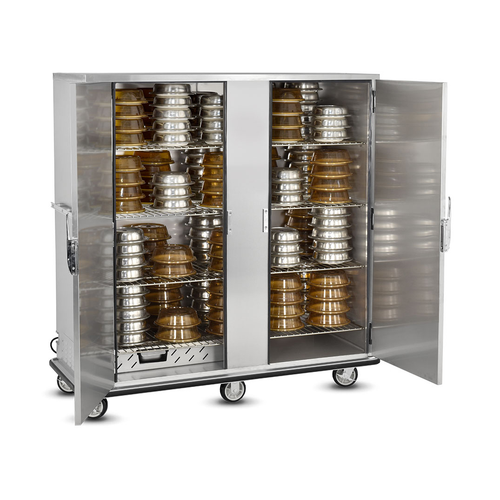 FWE P-200-2-XL 200 Covered Plates P-Series Banquet Cart