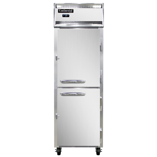 """Continental Refrigerator 1F-PT-HD 26"""" W One-Section Solid Door Freezer"""