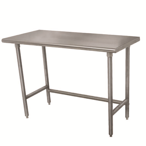 """Advance Tabco TELAG-303-X 36""""W X 30""""D Stainless Steel Work Table"""