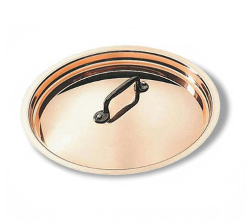 "Matfer Bourgeat 365024 9-1/2"" Dia Copper Bourgeat Lid"