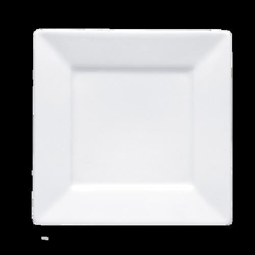 Bon Chef 5000004B  Bone China  White  Square  Plate