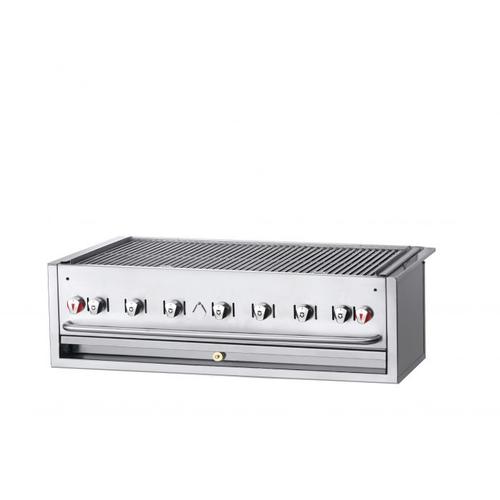"Crown Verity CV-BI-48NG 51.5"" Natural Gas Outdoor Charbroiler - 99,000 BTU"