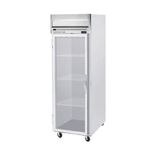 """Beverage Air HRS1W-1G 35"""" W One-Section Glass Door Reach-In Horizon Series Refrigerator"""
