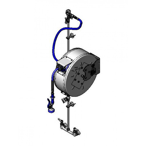 """T&S Brass B-1444 Hose Reel Assembly enclosed 3/8"""""""