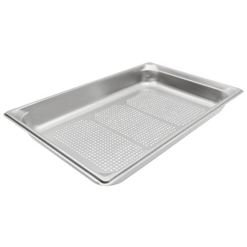"""Vollrath 90023 Super Pan 3 1/1 GN Food Pan Perforated 2-1/2"""""""