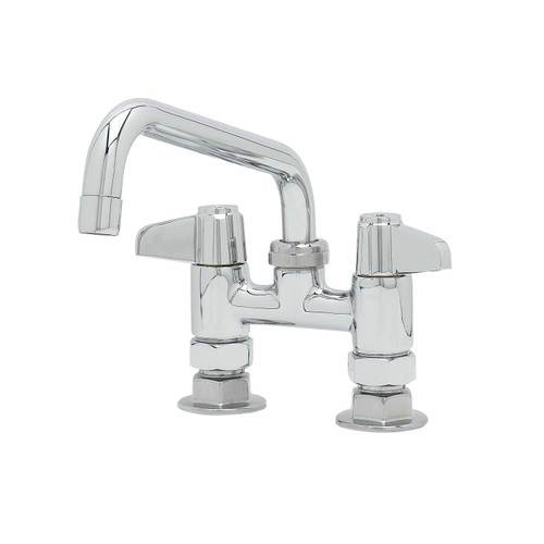 "T&S Brass 5F-4DLX08 Equip Faucet 4"""