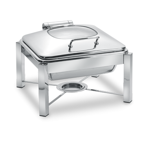 Eastern Tabletop 3944G/S Pillar'd Induction Chafing Dish