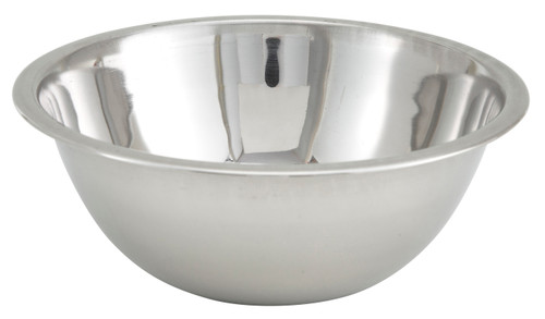 Winco MXB-300Q 3 qt. Stainless Steel Mixing Bowl - 72 Each/Case