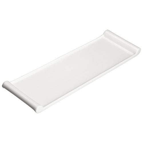 Winco WDP017-119  Porcelain  Bright White  Rectangular  Platter