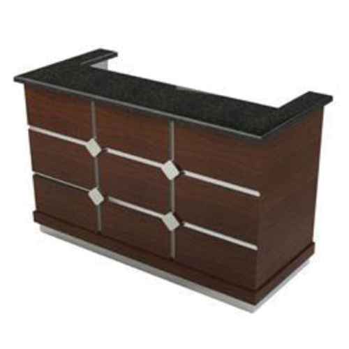 """Lakeside 76714 72"""" Bristol Portable Bar with Stainless Steel Workstation"""