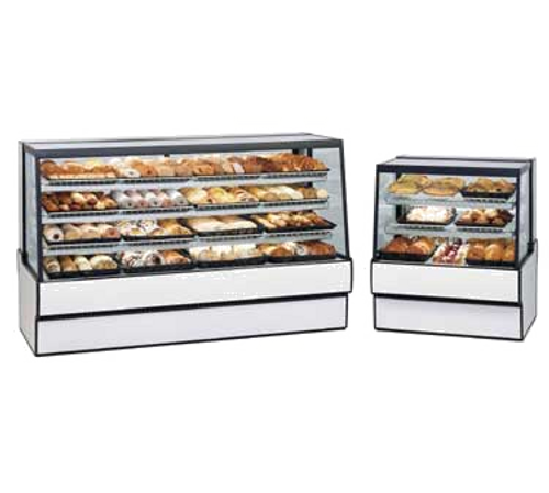 """Federal Industries SGD3648 36.13""""W Slanted Glass High Volume Non-Refrigerated Bakery Case"""