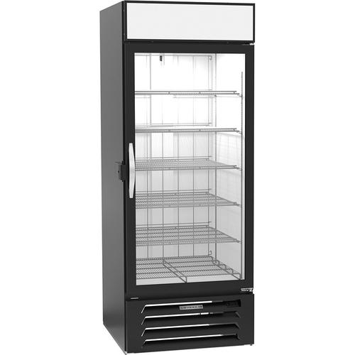 "Beverage Air MMF27HC-1-B-IQ 31.25""W One-Section Glass Door MarketMax™ Freezer Merchandiser"