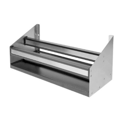 "Glastender DSR-14 13""W Stainless Steel Double Speed Rail"