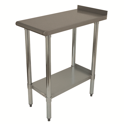 """Advance Tabco FTS-3015-X Stainless Steel Special Value Equipment Filler Table - 15""""W x 30""""D"""