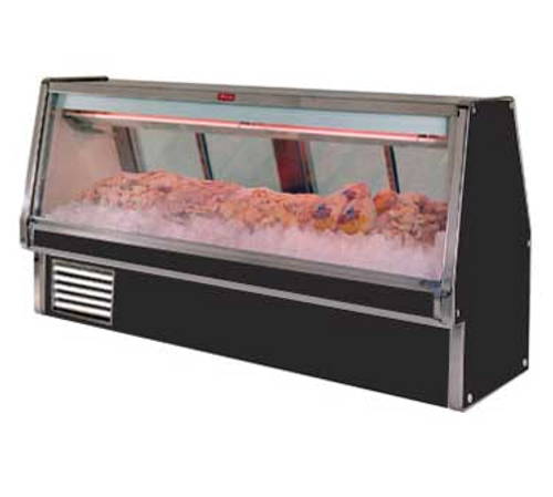 "Howard McCray SC-CFS34E-10-BE-LED 124.5""W Fish/Poultry Service Case"