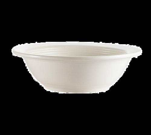 """CAC China TGO-10  6-5/8""""  13 oz  Porcelain  Bone White  Round  Tango Grapefruit Dish"""