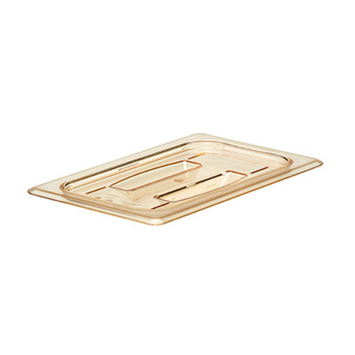 Cambro 40HPCH150 H-Pan 1/4 Size Amber Cover