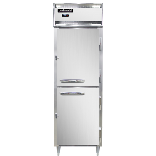 "Continental Refrigerator D1RNPTHD 26""W One-Section Solid Door Designer Line Refrigerator"