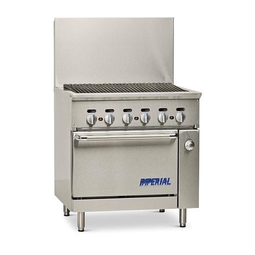 """Imperial IR-36BR-126 36"""" Gas Pro Series Restaurant Series Range Match - 125,000 BTU"""