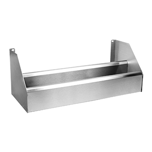 """Glastender C-DR-62 62""""W x 10""""D Stainless Steel Double Speed Rail"""