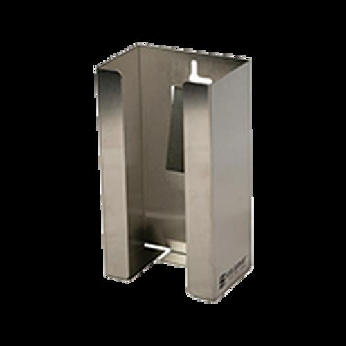 San Jamar G0801 1 Box Capacity Stainless Steel Disposable Glove Dispenser