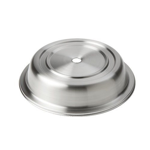 American Metalcraft PC0950R  Stainless Steel  Silver  Round  Plate Cover