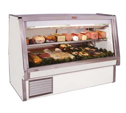 "Howard McCray SC-CDS34E-4-LED 52.5""W Deli Meat & Cheese Service Case"