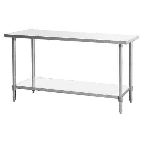 """Atosa SSTW-2472 72"""" MixRite Stainless Steel Work Table"""