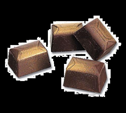 "Matfer Bourgeat 380111 Chocolate Mold Rectangular 1-1/3""L x 7/8""W x 3/4""H Polycarbonate"