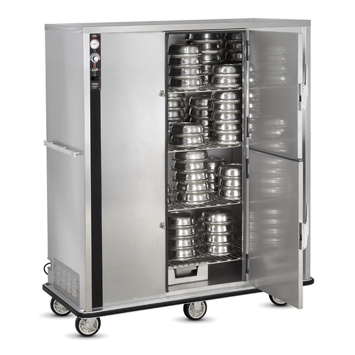 FWE P-200 200 Covered Plates Insulated P-Series Banquet Cart